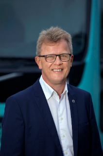Roger Alm, President Volvo Trucks.