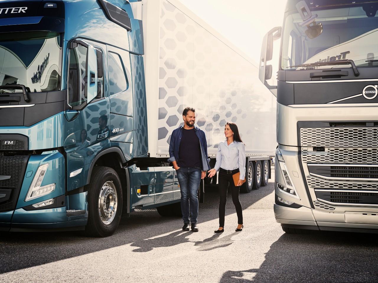 Lastbilstjenester – på dine betingelser